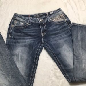 Miss Me Signature Boot Jeans size 30